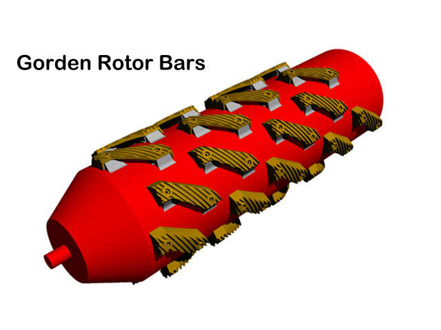 Full Gorden Rotor Bar Installation